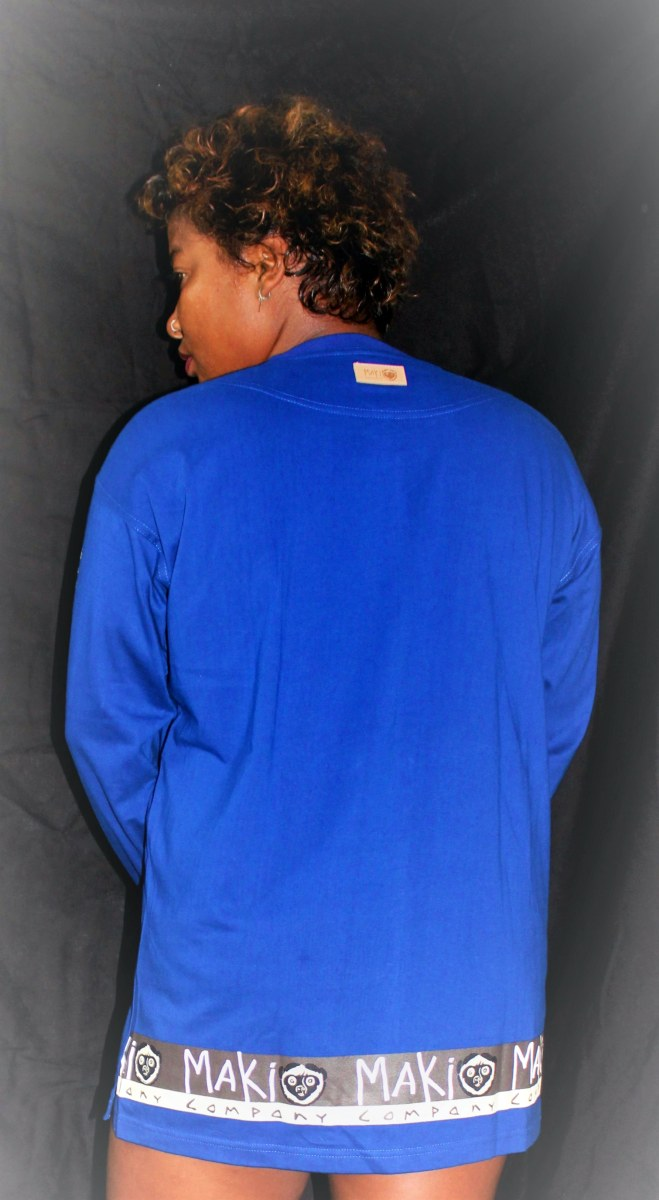 Sweat Shirt Maki Bleu
